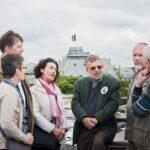 Встречающие в Брюсселе