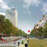 Пешеходная зона в Брюсселе будет расширена