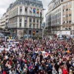 В Брюсселе почтили память жертв терактов 22 марта 2016