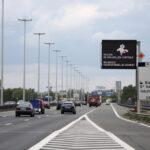 Новая дорожная разметка на Брюссельском кольце