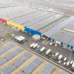 8 000 солнечных панелей на крыше рынка Mabru
