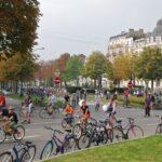 Велосипедисты в Брюсселе