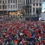 Во время чемпионата мира в Брюсселе не будет больших экранов