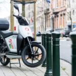 В Брюсселе внедрена схема обмена электрическими скутерами