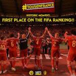 Red Devils стали номером один в новом рейтинге FIFA