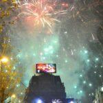 Брюссельский новогодний фейерверк собрал около 100 000 зрителей