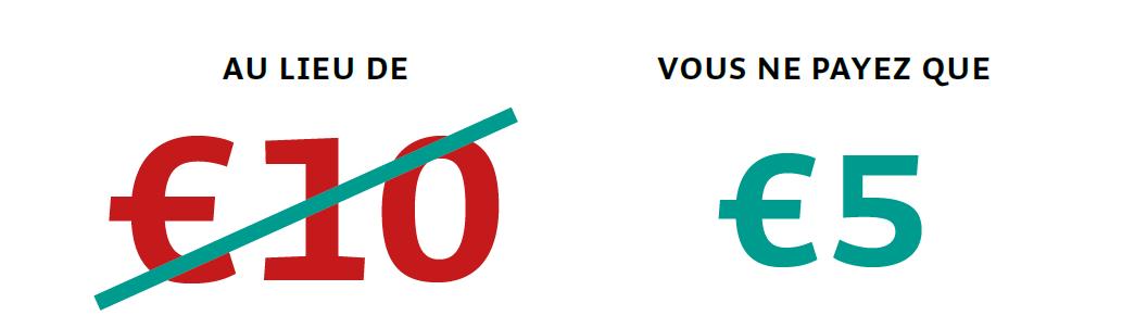 Salon des Vacances de Bruxelles_Au lieu de € 10 vous ne payez que € 5
