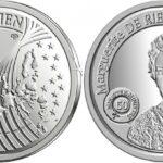 Новая монета номиналом € 5 будет выпущена с изображением первой женщины-министра Бельгии