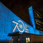 Бельгийские памятники станут синими в честь 70-летия ООН