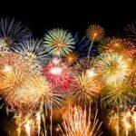Новогодние фейерверки в канун 2016