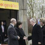 Бельгийская королевская чета встретилась с жертвами терактов и работниками скорой помощи