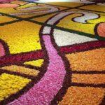 Брюссельский цветочный ковер появится в центре Японии на несколько дней!