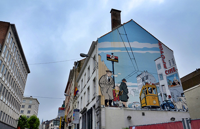 3.murals-city-brussels-comic-strip-best-free-things-to-do-in-Brussels