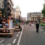 Брюссель выиграл награду за пешеходную зону – и получил вето на другой проект