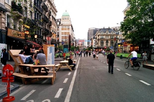 Pedestrian-area