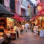 Пешеходный центр Брюсселя будет без ресторанных террас
