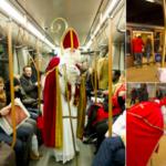 Святой Николай будет раздавать конфеты детям в Брюссельком метро