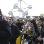 Французские избиратели в Бельгии проголосовали за Macron