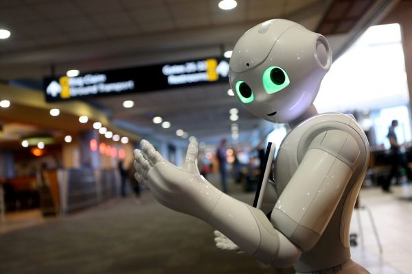 Robot-Brussels-Airport