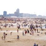 Около 400 000 человек собираются посетить бельгийское побережье в этот уик-энд