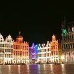 Ночной забег в Брюсселе