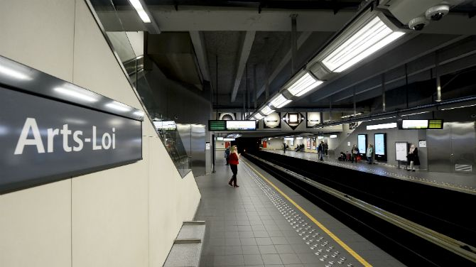 Wi-fi-Brussels-metro-stations