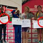 Одинаковая сумма денежного приза для победителей марафона среди мужчин и женщин