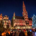 Рождественская атмосфера уже в Брюсселе