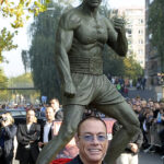 Жан-Клод Ван Дамм находится в Брюсселе
