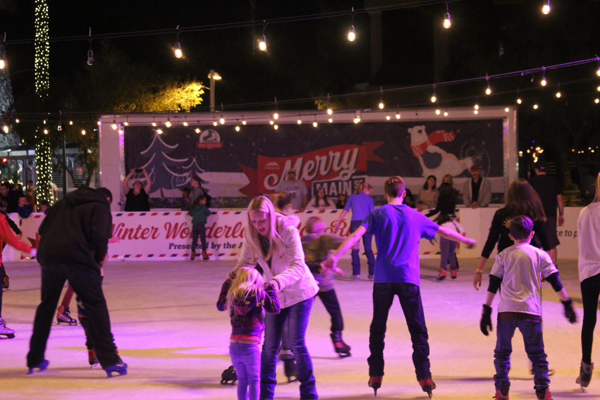 Synthetic-ice-rink