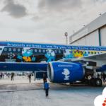Брюссельские авиалинии представили самолет Smurf