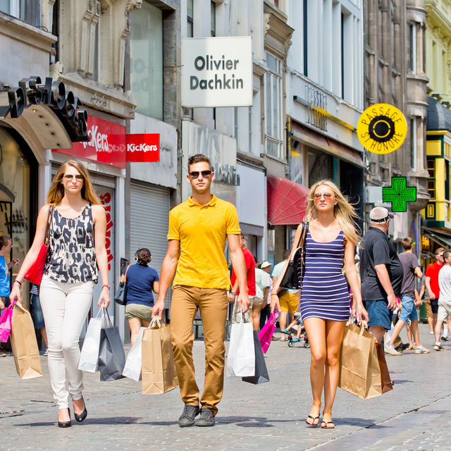 Shopping-Belgium