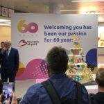 60 лет аэропорту Брюсселя
