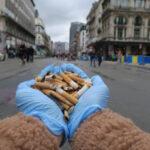Брюссельская табачная ассоциация будет компенсировать очистку окурков